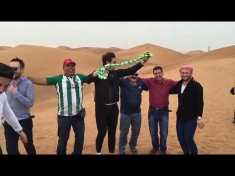 Bursaspor aşkı Dubai'de