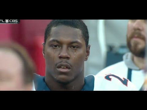 Knowshon Moreno Crying on the Sideline After National Anthem (Official) [HD]