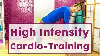 Volle Power: 20 Minuten High Intensity Cardio-Training