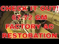 How to get your 67-72 c10 ac restored