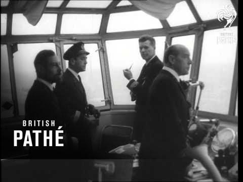 """Dutch Carrier """"Karel Doorman"""" - North Sea    (1962)"""