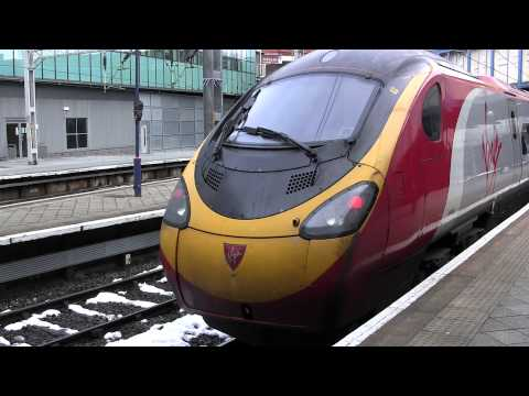 Virgin Trains Pendolino train (exterior) - January 2013