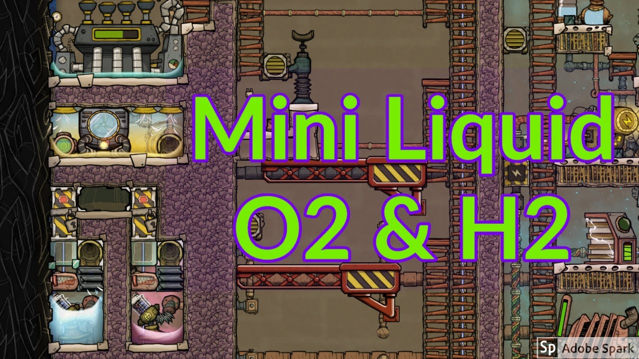 Baby Base 12 : A little liquid O2 and Hydrogen : Oxygen not included