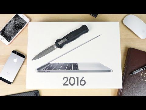 2016 MacBook Pro 13-inch Unboxing in Space Grey!