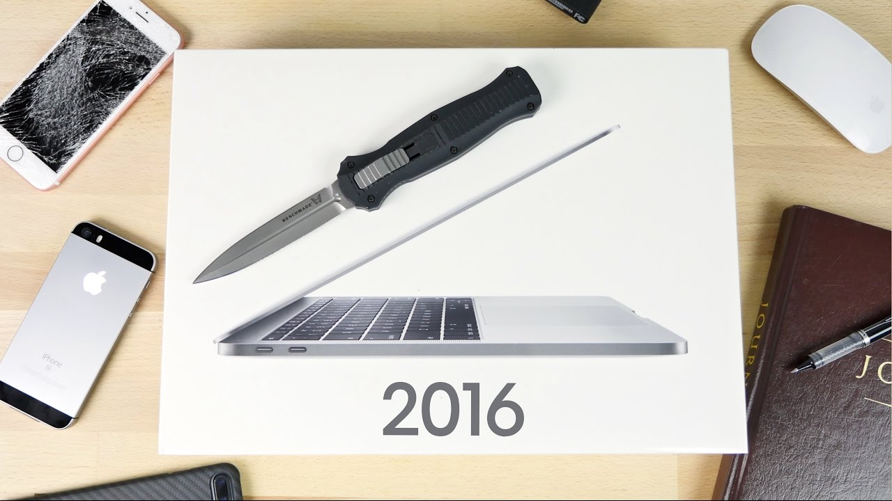 2016 MacBook Pro 13-inch Unboxing in Space Grey!