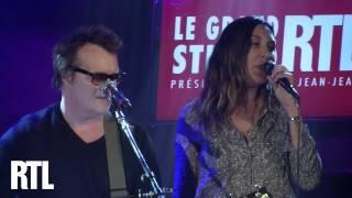 Zazie & Axel Bauer - A ma place en live dans le Grand Studio RTL