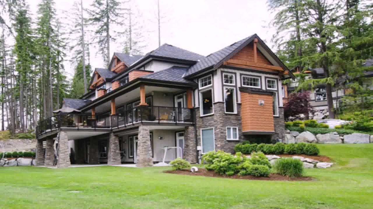 West Coast Style Homes Design - YouTube on western home design, river home design, jungle home design,