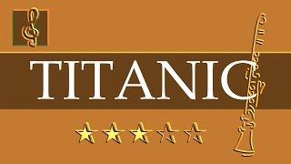 Clarinet - My heart will go on - Titanic (Sheet music - Guitar chords)