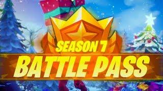 *NEW* SEASON 7 BATTLE PASS! (Fortnite: Battle Royale)