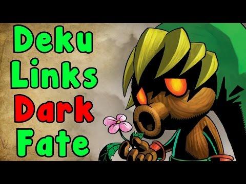 Zelda Theory - Deku Links DARK Story (The Legend Of Zelda Majora's Mask)