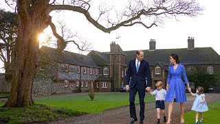 How Kate, George and Charlotte are spending their school holiday