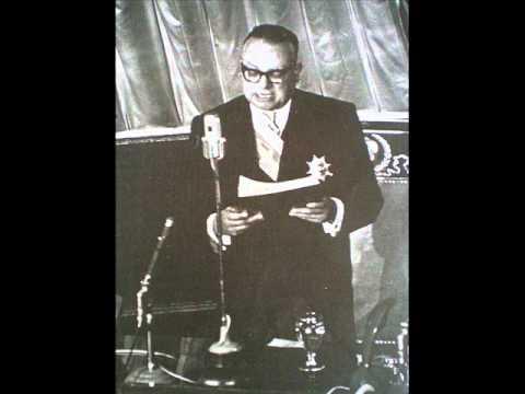 Discurso de Don Rómulo Betancourt en su Regreso del Exilio 1958