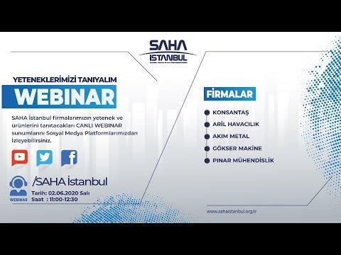 SAHA İstanbul Makine ve Diğer İmalat Ekipmanları Komitesi 02.06.2020 Canlı Yayını