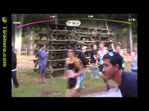 2012 XC Ocean County Champs at Ocean County Park - Broadcast Style