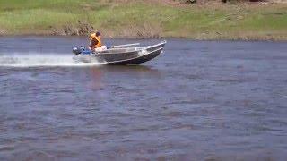 Лодка лиман-а370(Алюминиевые Лодки под заказ в Ижевске.тел 89827906503 : длина , ширина, высота борта на ваш выбор.Один из варианто..., 2016-05-14T15:30:42.000Z)