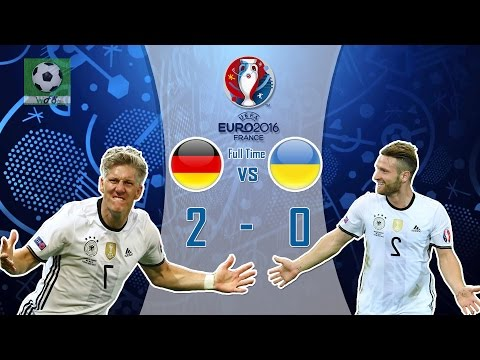 Germany vs Ukraine 2-0 FullTime All Goals and Highlights Euro 2016 -Group C [1080HD]