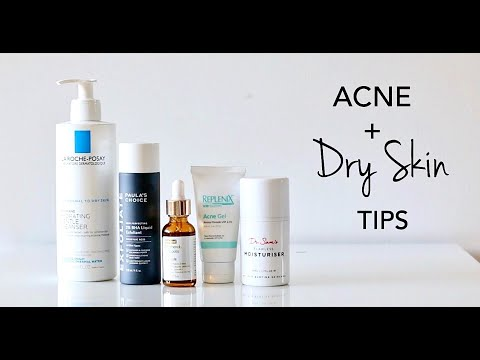 How To Treat Dry Skin With Acne