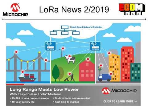 ECOM s r o  - LoRa News 02/2019