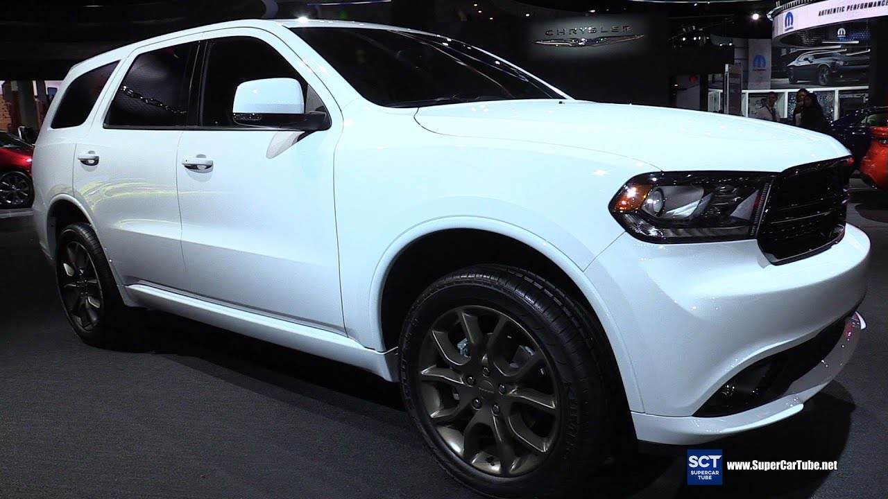 2016 dodge durango v8 awd exterior and interior walkaround 2016 detroit auto show youtube