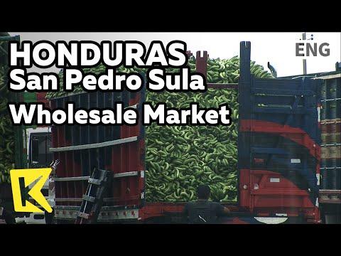 【K】Honduras Travel-San Pedro Sula[온두라스 여행-산페드로술라]농산물 도매시장, 엄청난 바나나/Wholesale Market/Banana