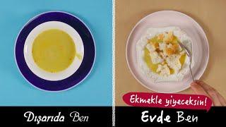 Evde Yemek Yerken Ben vs Dışarda Yemek Yerken Ben
