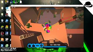 When playing Roblox no Shift Lock and the end//Flood Escape 2//Roblox