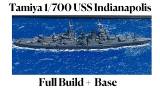 Hello everyone!! this is a full-build video of the tamiya 1/700 uss indianapolis. i really enjoyed building kit! my first model ship have b...