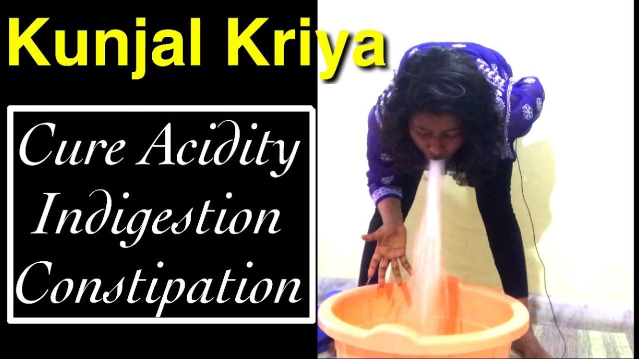 Yoga Kriya For Constipation