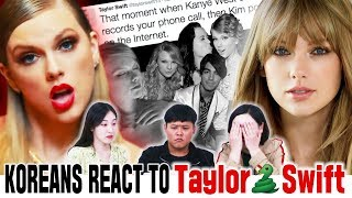 Koreans in their 30s React To Taylor Swift
