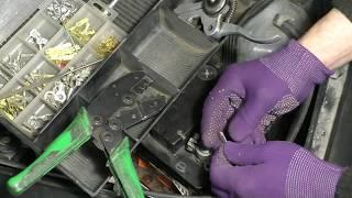 Устанавливаем вольтметр в салон автомобиля . АВТО электрик в деле.