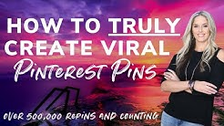 How to Create Viral Pins on Pinterest - Over 500,000 Repins and Counting!