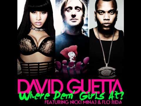 Nicki Minaj feat. Flo Rider & David Guetta- Where Dem Gir At (Download)