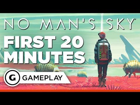 No Man's Sky: First 20 Minutes of Gameplay