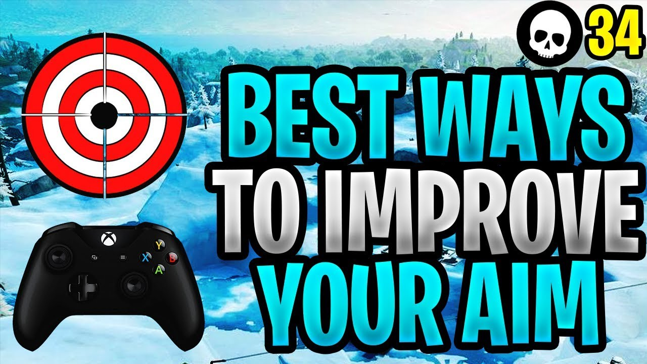 Der beste Weg, um das Ziel für Controller Fortnite zu verbessern! (Fortnite How To Aim PS4 Xbox) + video