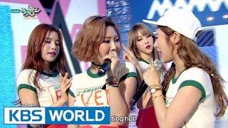 MAMAMOO - Um Oh Ah Yeh | 마마무 - 음오아예 [Music Bank COMEBACK / 2015.06.19]