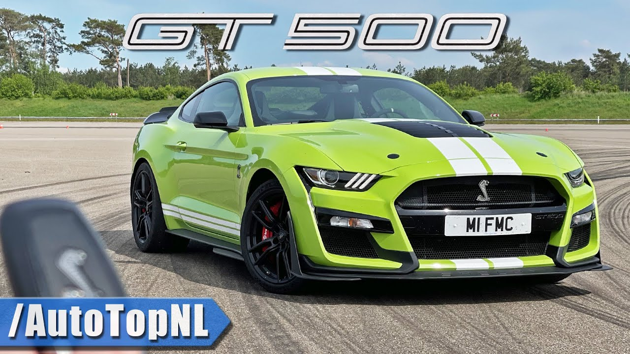 SHELBY MUSTANG GT500 REVIEW on TRACK by AutoTopNL