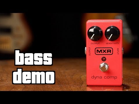 MXR Dyna Comp Bass Demo