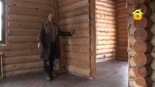 Дом из оцилиндрованного бревна с цокольным этажом // FORUMHOUSE(, 2013-04-01T07:23:03.000Z)