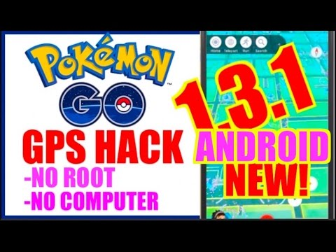 NEW Pokemon GO Hack ANDROID NO ROOT  1.3.1 - Teleport & Tap To Walk