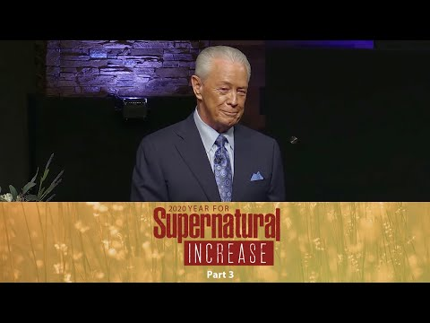 2020  Year For Supernatural Increase Part 3