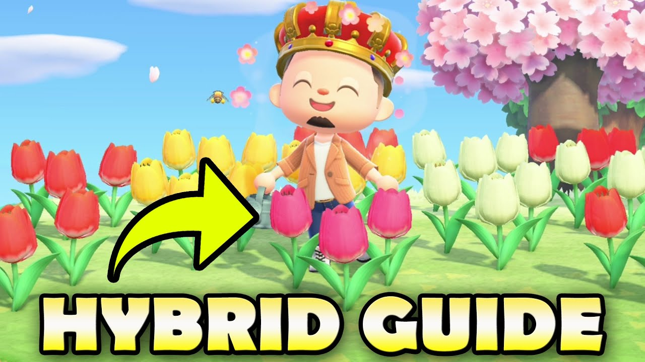 How To Get Rare Hybrid Flowers In Animal Crossing New Horizons