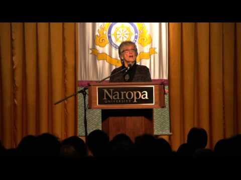 Environmental Activist and Buddhist scholar Joanna Macy at Naropa University