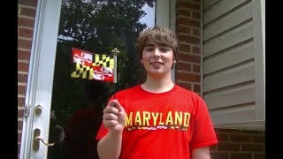 Proud to be from Maryland