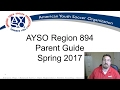 AYSO 894 Spring 2017 Parent Guide