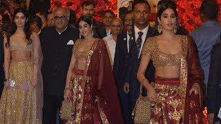 Janhvi Kapoor In A Never Seen Before Avatar At Isha Ambani's Wedding Reception