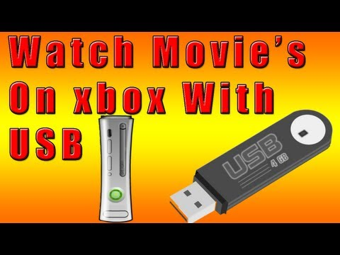 How to watch downloaded movies/videos on xbox 360 with USB
