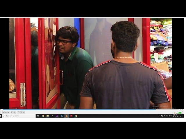 TRIAL Room Prank | Prankster rahul | Tamil video| PSR India 2020