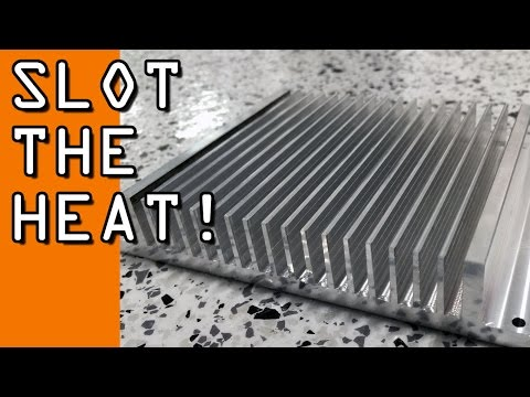 CNC Machining a Heat Sink!  Part 1 Widget102