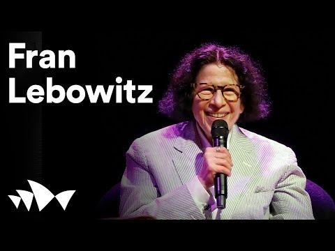 Who's afraid of Fran Lebowitz?   Digital Season