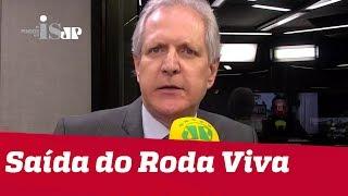 Augusto Nunes explica saída do Roda Viva